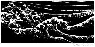 Die sechsundreißig Ansichten des Berges Fuji nach Katsushika Hokusai
