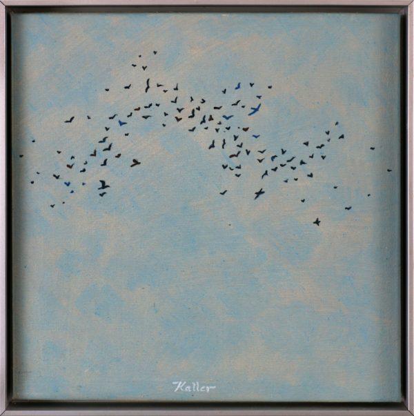 Udo Kaller, Der Vogelschwarm, 2012