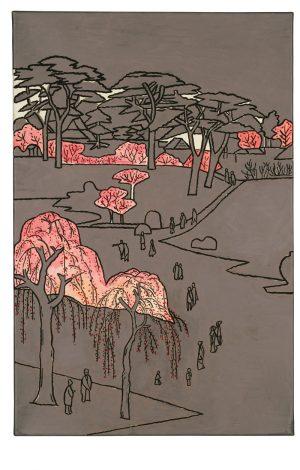 Udo Kaller | Kirsch- und Rhododendron-Blüte in den Gärten des Shinto-Klosters Sushoin