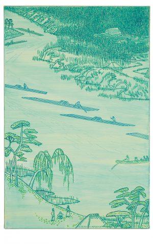 Udo Kaller | Die Kawaguchi-Fährstelle am Sumida-Fluss und das Kloster Zenkoji