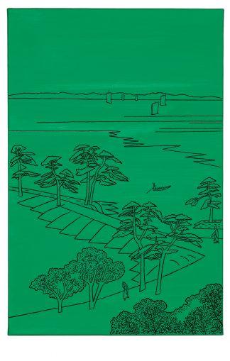 Udo Kaller   Am Fluss Nakagawa