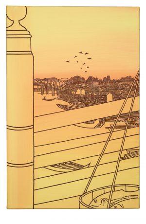 Udo Kaller | Makrelenbottich auf der Nihon-Brücke