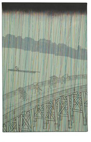 Udo Kaller | Regenschauer auf der Ōhashi-Brücke