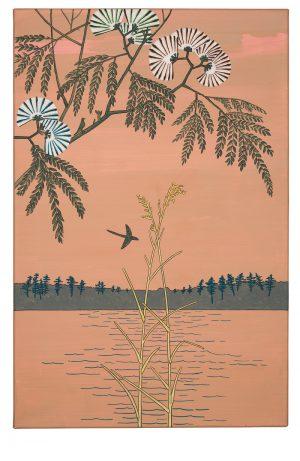 Udo Kaller | Seidenakazie am Ayase-Fluss