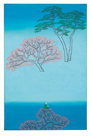 Udo Kaller | Hiroshige als Malermönch
