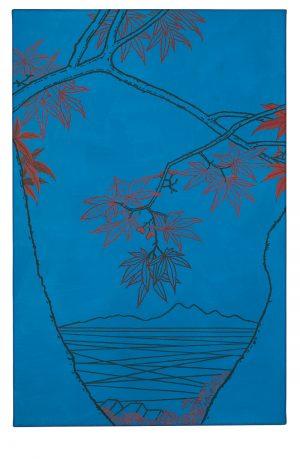Udo Kaller | Die Gabel eines Ahorns mit Blick auf den Tsukubayama