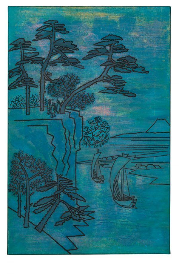 Udo Kaller | Ansicht des Kōnodai-Hügels und des Flusses Tone