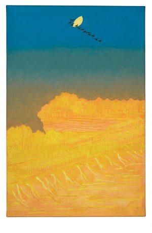 Udo Kaller | Vogelzug über dem Nihon-Damm