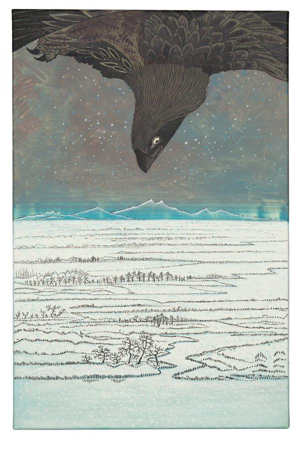 Udo Kaller | Adler über der Bucht von Edo