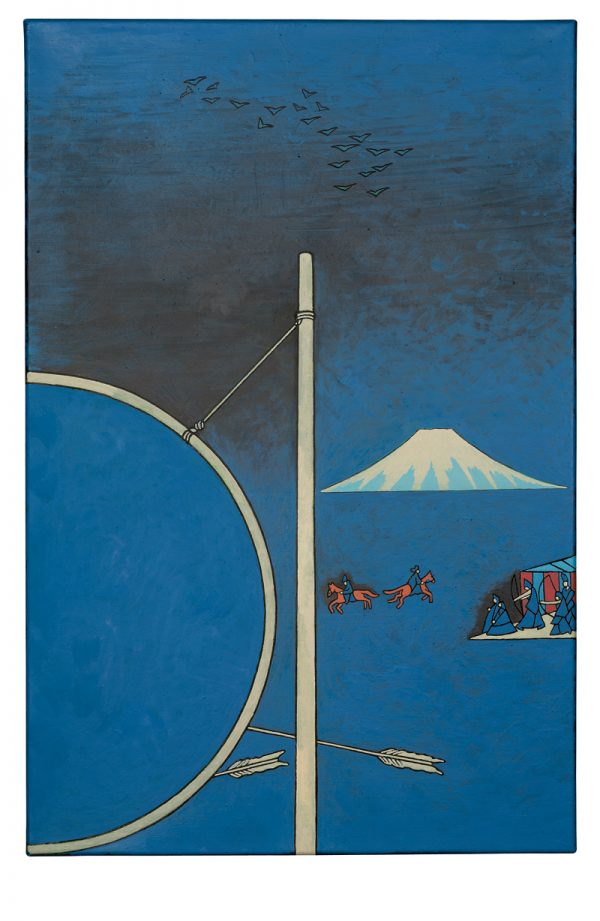 Udo Kaller | Bogenschießplatz auf einer Pferderennbahn in Takata
