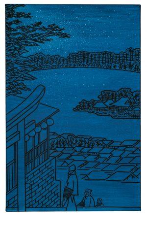 Udo Kaller | Blick vom Tenjin-Schrein auf den Teich Shinobazu
