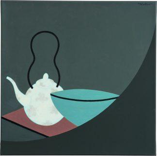 Udo Kaller | Teekanne mit Schale