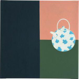 Udo Kaller | Teekanne mit Blaudekor