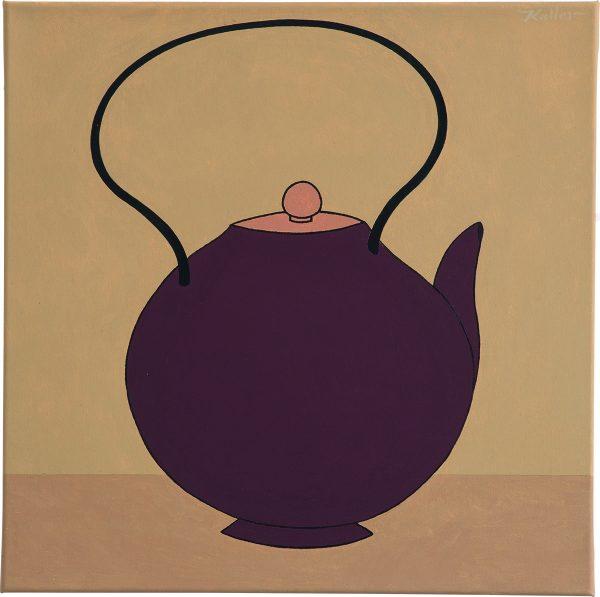 Udo Kaller | Braune Teekanne
