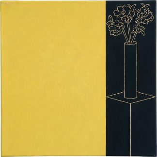 Udo Kaller | Vase auf Podest