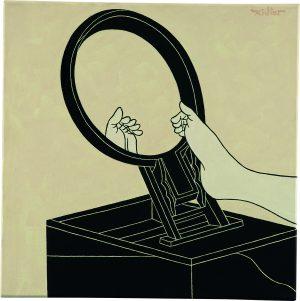 Udo Kaller | Der Fuß einer Malerin