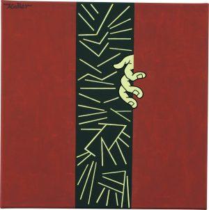 Udo Kaller | Hinter dem Vorhang