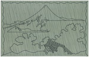 Udo Kaller | Regen über dem Zen-Tempel von Aoyoma