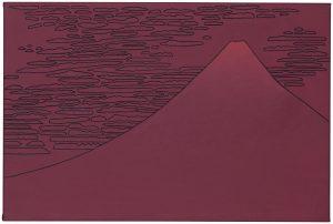 Udo Kaller | Der rote Fuji bei klarem Wetter