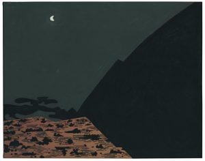 Udo Kaller | Mond über der Provinz Sagami