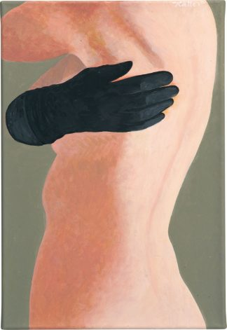 Udo Kaller – Rücken und Handschuh